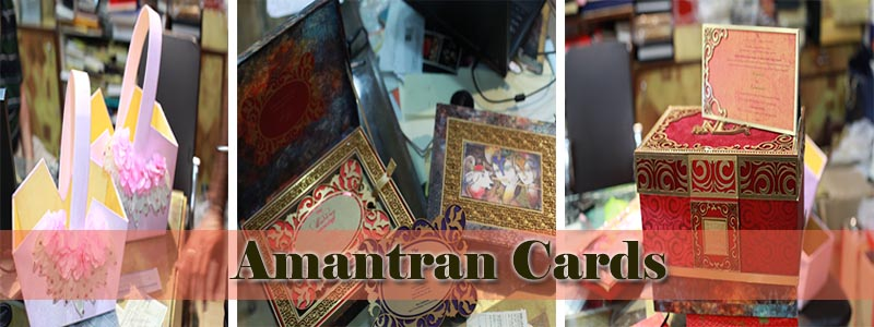 Amantran cards is well equipped Printing Press & Designing Studio with its dedicated professional team endeavor to re-create the amazing designs and art work.